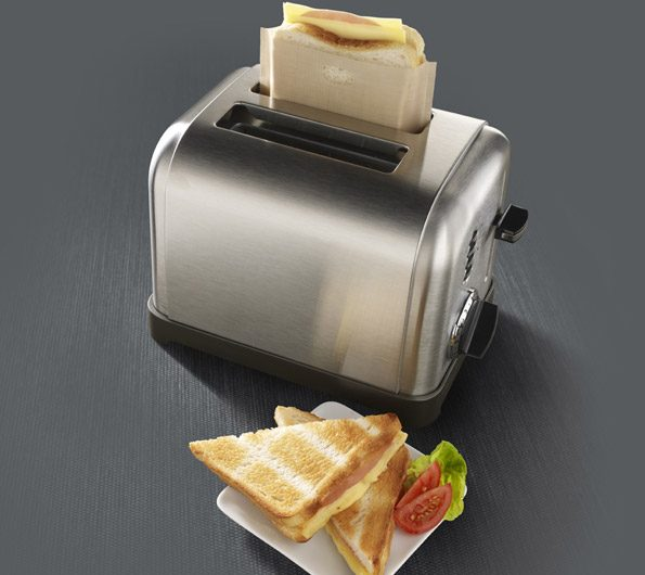 How to Make a Grilled Cheese Sandwich in a Toaster